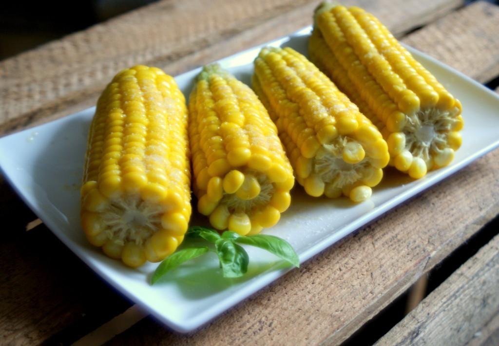 kukurydza z masłem