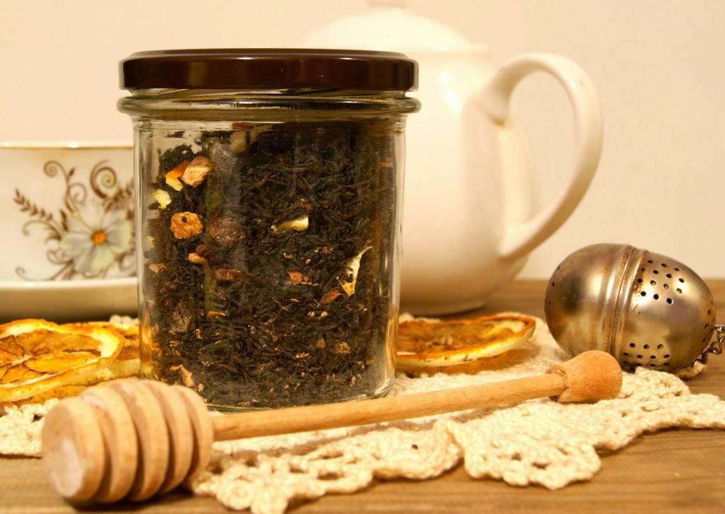 herbata zimowa, przepis na herbate