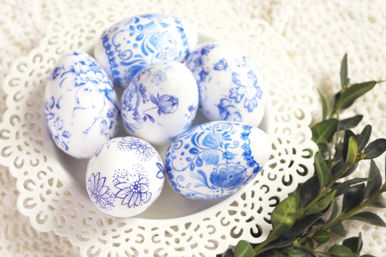 porcelanowe jajka