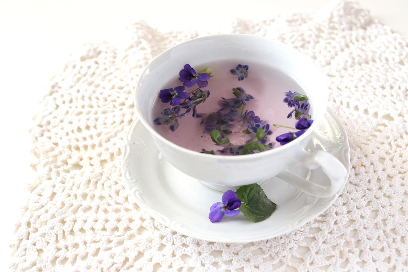 herbatka fiołkowa