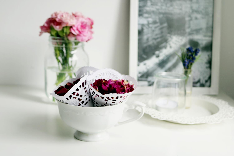 różane konfetti