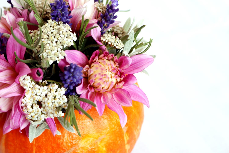 jesienna dekoracja z dyni