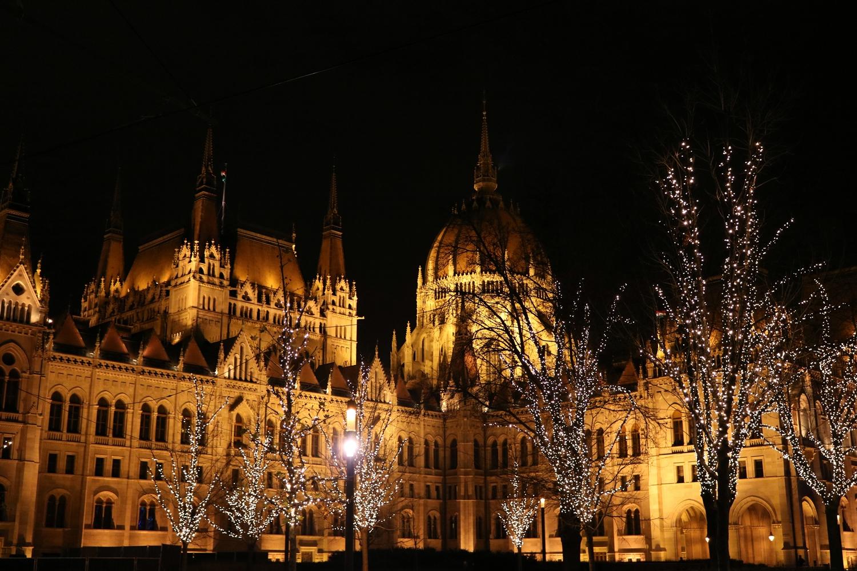 Budapeszt w grudniu